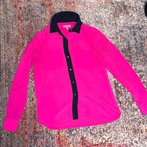 Hot pink Juicy Couture button up